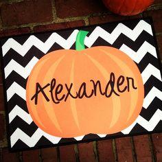 Halloween Doormats - Pumpkin