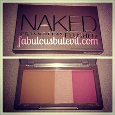 how to highlight and contour your face with the urban decay naked flushed palette!