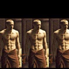 jamie bell shirtless