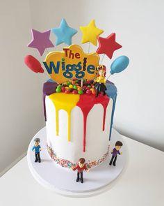 The Wiggles Image: 2nd Birthday Cake Girl, Wiggles Birthday, Wiggles Party, Cute Birthday Cakes, Birthday Themes For Boys, Boy Birthday Parties, Birthday Ideas, Wiggles Cake, The Wiggles