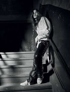 l'escalier de l'enfer: mathilde brandi by michael schwartz for exit #32 | visual optimism; fashion editorials, shows, campaigns & more!