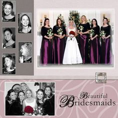 Gallery - Scrapbooking - Wedding - Two Peas in a Bucket