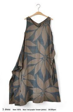 Printed linen   [ JURGEN LEHL ] online shop
