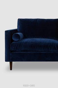 Velvet Bolster Pillow Blue Furniture, Bolster Pillow, Blue Pillows, Quality Furniture, Blue Velvet, Blue Fabric, Blue Sofas, Blue Chairs, Love Seat