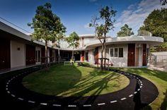 Kensington International Kindergarten in Bangkok, Thailand; designed by Plan Architect