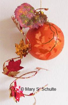 Fall Crafts for the Elderly