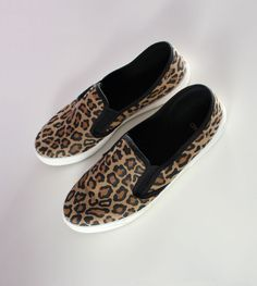 Leoprint Slip on Sneaker