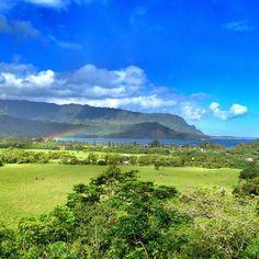 hanalei, kauai, hawaii. puff the magic dragon's hometown!
