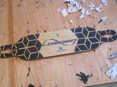 Custom Longboard Grip Tape Design