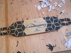 Custom Longboard Grip Tape Design