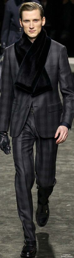 Brioni 2015 | Men's Fashion | Menswear | Men's Outfit for Fall/Winter | Stylish and Sophisticated | Moda Masculina | Shop at designerclothingfans.com
