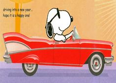 Driving into a New Year...hope it is a happy one!