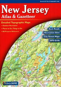 New Jersey, Atlas and Gazetteer by DeLorme