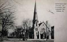 Christ Episcopal Church c. 1908 Ottawa, IL