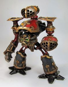 Armourcast Reaver Titan I like these  model  pods