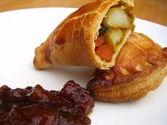Curried Veg Pasties From tinnedtomatoes.com Vegetable Recipes, Vegetarian Recipes, Cooking Recipes, Veg Pie, Vegetable Pasties, Tinned Tomatoes, Savory Pastry, Food Inspiration, Good Food