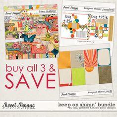 Keep On Shinin' Bundle by Libby Pritchett & Studio Basic Designs http://www.sweetshoppedesigns.com/sweetshoppe/product.php?productid=25987=579=1