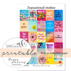 Hey, I found this really awesome Etsy listing at https://www.etsy.com/listing/601966279/printable-stickers-planner-stickers-full