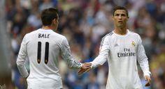 Garrit Bale en Christiano Ronaldo