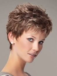 Short choppy hairstyles for over 50