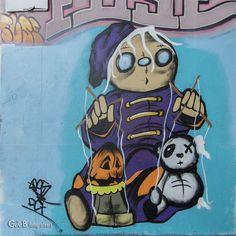 Grafitti Art by Fuse Graffiti, Photo, Disney Characters, Donald, Art, Character