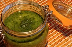 Další v řadě a letos výhra Pesto Dip, Czech Recipes, Tzatziki, Preserving Food, Recipe Images, Cooking Light, Chutney, Pickles, Kimchi