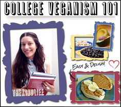 How To Stick To Your #Vegan Diet In College #TheKindLife // She goes (went?) to my school! AHHHH Go SLC vegans!
