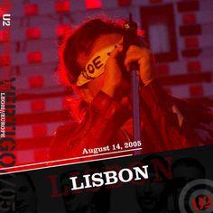 U2 -Vertigo Tour -Lisbonne ,Portugal 14/08/2005