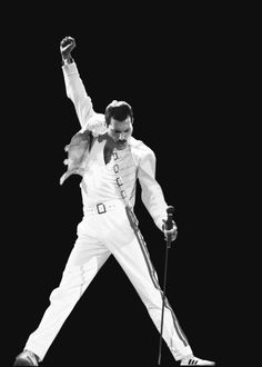 Freddie Mercury - The Greatest singer that has ever lived. There is no argument, the very best.