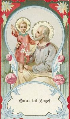 Dutch Holy Card