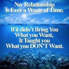 No Relationship is ever a waste.... It's for a reason!!! Move on don't look back!