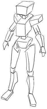How To Draw Mecha Draw Anime Robots Step 8 Art Stuff Drawings