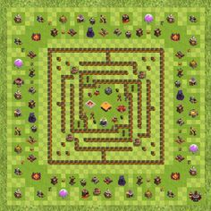 Clash Of Clans Town Hall Clash Of C