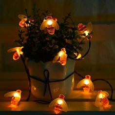 Bee lights so beautiful! Shop this now! Link in bio!