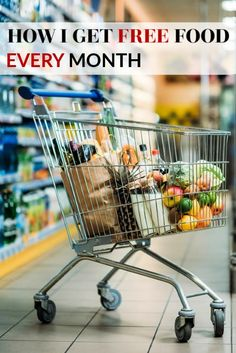 Looking to save BIG on food (or even pay nothing for food?) Here's how I get FREE food EVERY single month without ever leaving my home! Free Groceries, Save Money On Groceries, Survival Life Hacks, Survival Prepping, Frugal Living Tips, Frugal Tips, Budget Meal Planning, Emergency Preparation, Leaving Home