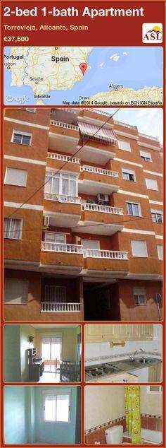 2-bed 1-bath Apartment in Torrevieja, Alicante, Spain ►€37,500 #PropertyForSaleInSpain