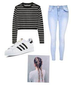 """""""Untitled #7"""" by maddy-35 on Polyvore featuring TIBI, Glamorous and adidas"""