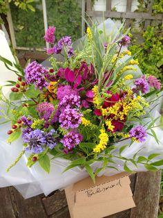 Mixed bright bridesmaid's bouquet