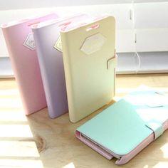 HAPPYMORI KOREAN - PASTEL - Cover Case for Galaxy Note/ Nexus/ HD LTE