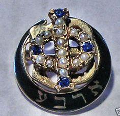 Gamma Phi Beta!  Just like my badge.
