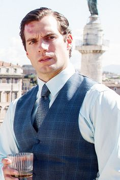 Henry Cavill as Napoleon Solo in Guy Ritchie's The Man From U.N.C.L.E.