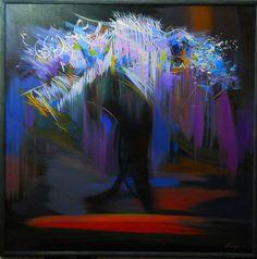 Abstract Ballet - Ballerina Modern Painting