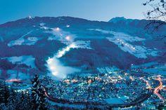 Schaldming at night - Planai & Hochwurzen – skiing holidays in Schladming-Dachstein - Austria