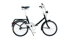 MONOQI | Bruna Foldable Bike - Black
