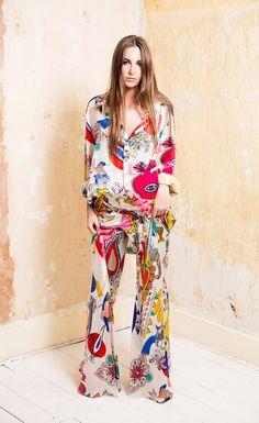 Texicana Silk Trousers