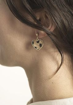 Simple Jewelry, Solid Brass, Diamond Earrings, Plating, It Is Finished, Drop, Modern, Gold, Handmade
