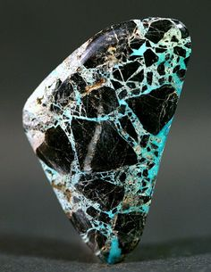 Spider Webbed Carlin Turquoise Nevada