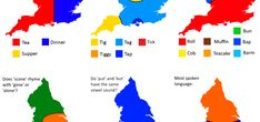 6 Ways to Divide England Linguistically: Explained - Same Same But Different