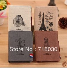 Free shipping 2013 Hot-selling  romantic memory hemp card holder card case 20 place card women's &men's Card & ID Holders
