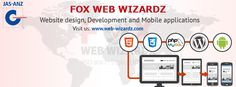 At Fox Web Wizardz we believe in offering web solutions rather than services to our clients for an enhanced IT experience.